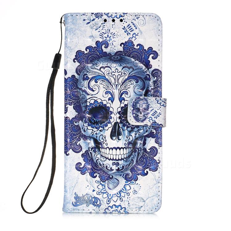 Cloud Kito 3D Painted Leather Wallet Case for Samsung Galaxy A71 5G