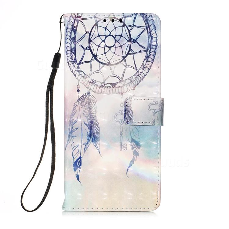 Fantasy Campanula 3D Painted Leather Wallet Case for Samsung Galaxy A71 5G