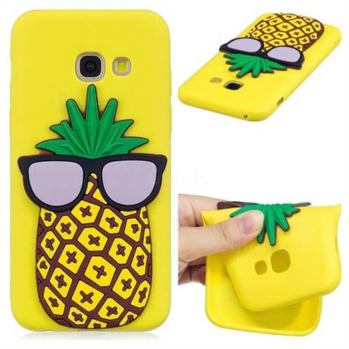 Pineapple Soft 3D Silicone Case for Samsung Galaxy A7 2017 A720