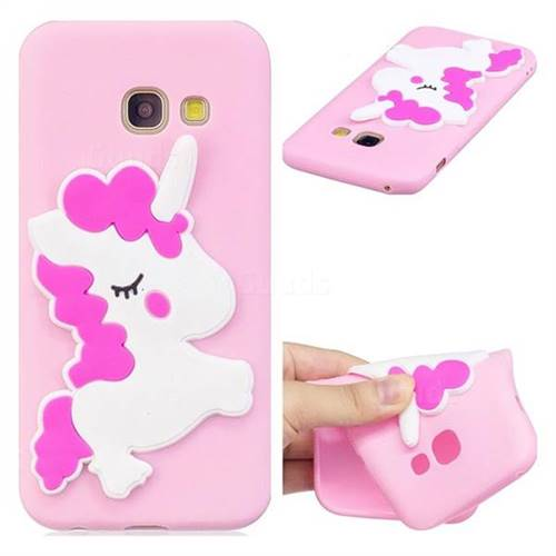 Pony Soft 3D Silicone Case for Samsung Galaxy A7 2017 A720
