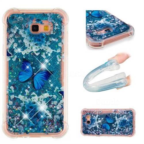 Flower Butterfly Dynamic Liquid Glitter Sand Quicksand Star TPU Case for Samsung Galaxy A7 2017 A720