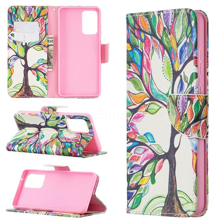 The Tree of Life Leather Wallet Case for Samsung Galaxy A72 (4G, 5G)