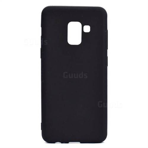 sale retailer c7bff 516fc Candy Soft TPU Back Cover for Samsung Galaxy A8+ (2018) - Black