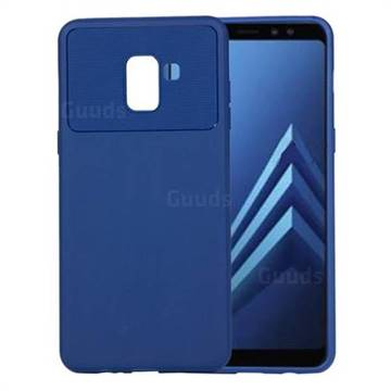 info for 9ed3e 564d2 Carapace Soft Back Phone Cover for Samsung Galaxy A8+ (2018) - Blue