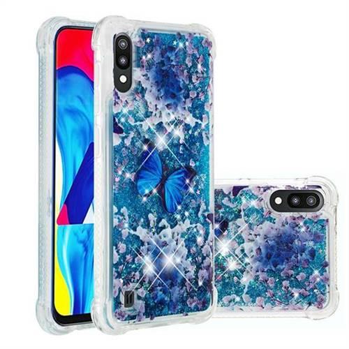 Flower Butterfly Dynamic Liquid Glitter Sand Quicksand Star TPU Case for Samsung Galaxy A10