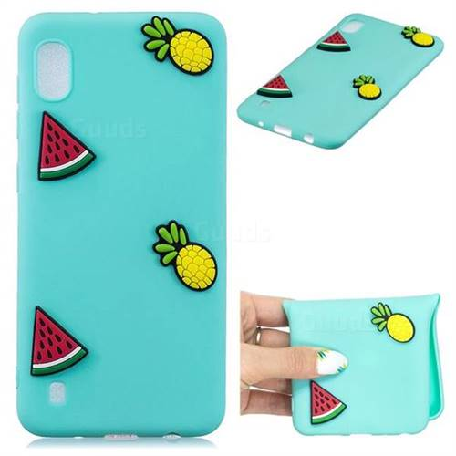 Watermelon Pineapple Soft 3D Silicone Case for Samsung Galaxy A10