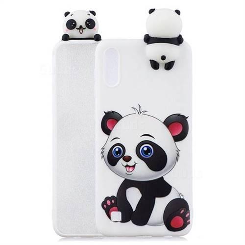 Panda Girl Soft 3D Climbing Doll Soft Case for Samsung Galaxy A10