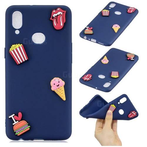 I Love Hamburger Soft 3D Silicone Case for Samsung Galaxy A10s