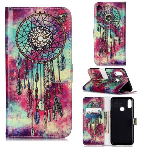 Butterfly Chimes PU Leather Wallet Case for Samsung Galaxy A10s