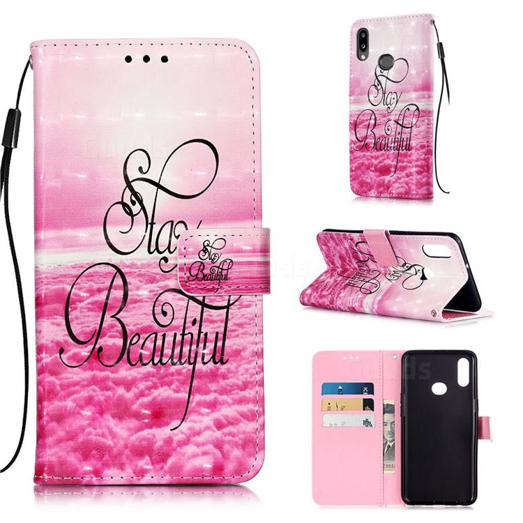 Beautiful 3D Painted Leather Wallet Case for Samsung Galaxy A10s