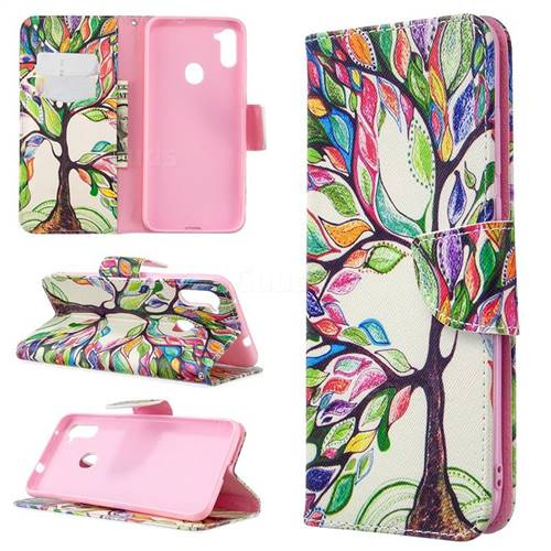 The Tree of Life Leather Wallet Case for Samsung Galaxy A11