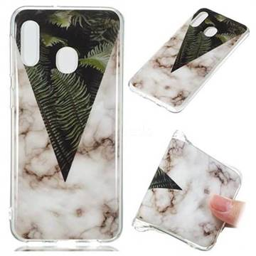 Leaf Soft TPU Marble Pattern Phone Case for Samsung Galaxy A20e