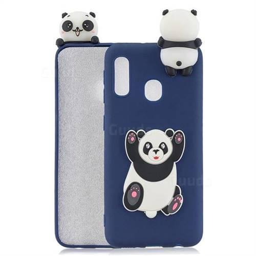 Giant Panda Soft 3D Climbing Doll Soft Case for Samsung Galaxy A20e