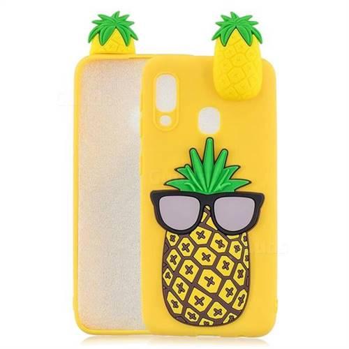 Big Pineapple Soft 3D Climbing Doll Soft Case for Samsung Galaxy A20e