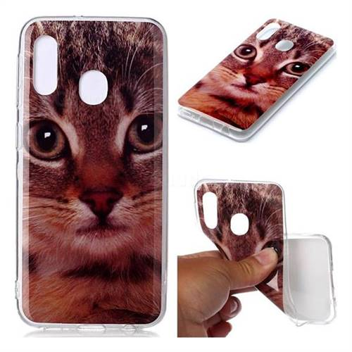 Garfield Cat Soft TPU Cell Phone Back Cover for Samsung Galaxy A20e