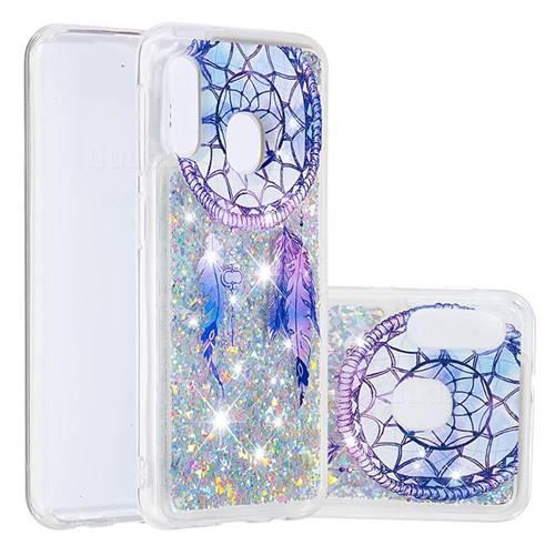Fantasy Wind Chimes Dynamic Liquid Glitter Quicksand Soft TPU Case for Samsung Galaxy A20e