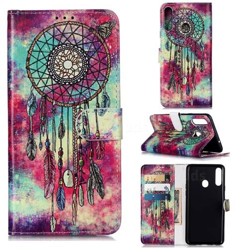 Butterfly Chimes PU Leather Wallet Case for Samsung Galaxy A20s