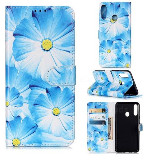 Orchid Flower PU Leather Wallet Case for Samsung Galaxy A20s