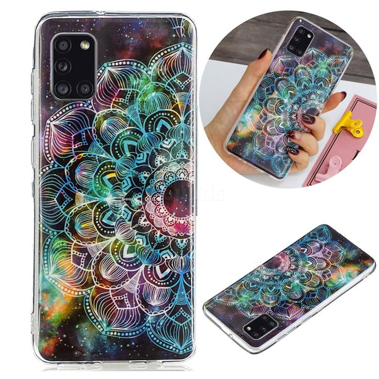 Datura Flowers Noctilucent Soft TPU Back Cover for Samsung Galaxy A31