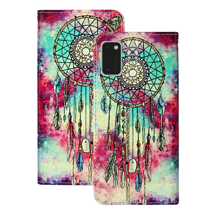 Butterfly Chimes PU Leather Wallet Case for Samsung Galaxy A41