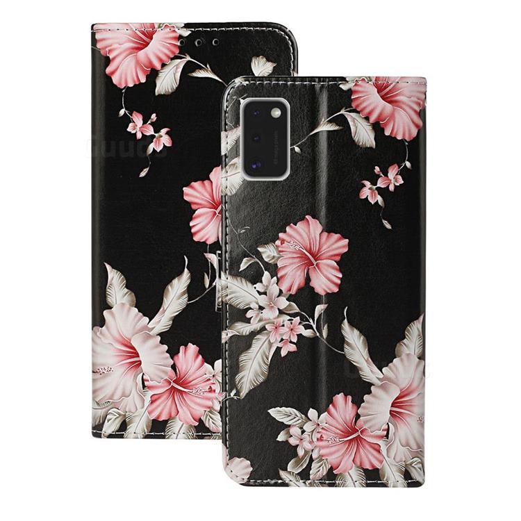 Azalea Flower PU Leather Wallet Case for Samsung Galaxy A41