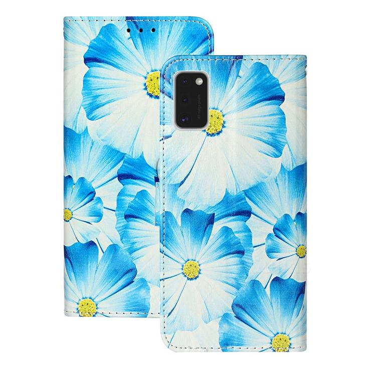 Orchid Flower PU Leather Wallet Case for Samsung Galaxy A41