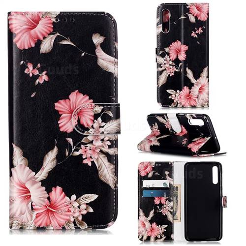 Azalea Flower PU Leather Wallet Case for Samsung Galaxy A50s