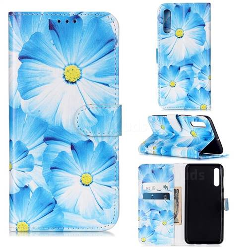 Orchid Flower PU Leather Wallet Case for Samsung Galaxy A50s