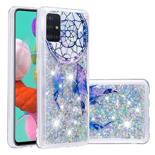 Fantasy Wind Chimes Dynamic Liquid Glitter Quicksand Soft TPU Case for Samsung Galaxy A51
