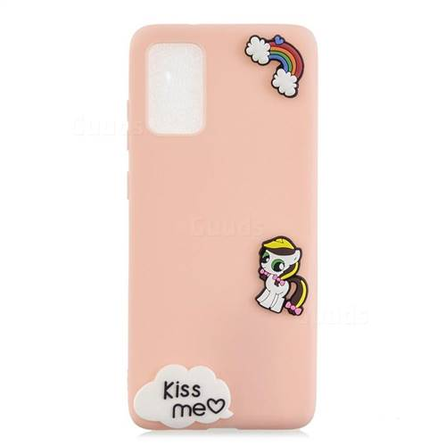 Kiss me Pony Soft 3D Silicone Case for Samsung Galaxy A51