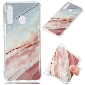 Elegant Soft TPU Marble Pattern Phone Case for Samsung Galaxy A60