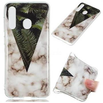 Leaf Soft TPU Marble Pattern Phone Case for Samsung Galaxy A60