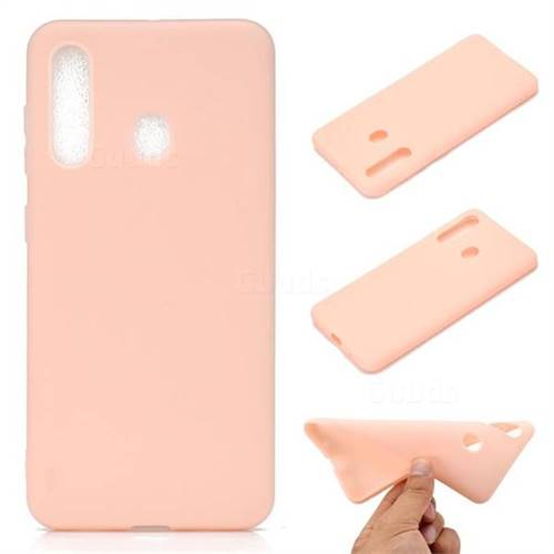 Candy Soft TPU Back Cover for Samsung Galaxy A60 - Pink