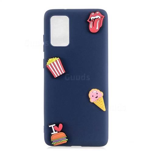 I Love Hamburger Soft 3D Silicone Case for Samsung Galaxy A71