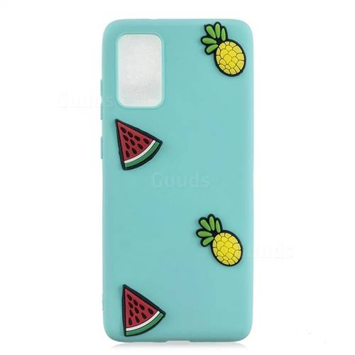 Watermelon Pineapple Soft 3D Silicone Case for Samsung Galaxy A71