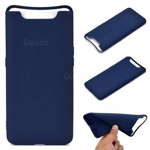 Candy Soft TPU Back Cover for Samsung Galaxy A80 A90 - Blue
