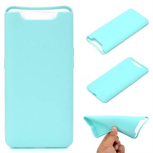 Candy Soft TPU Back Cover for Samsung Galaxy A80 A90 - Green