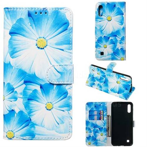Orchid Flower PU Leather Wallet Case for Samsung Galaxy M10