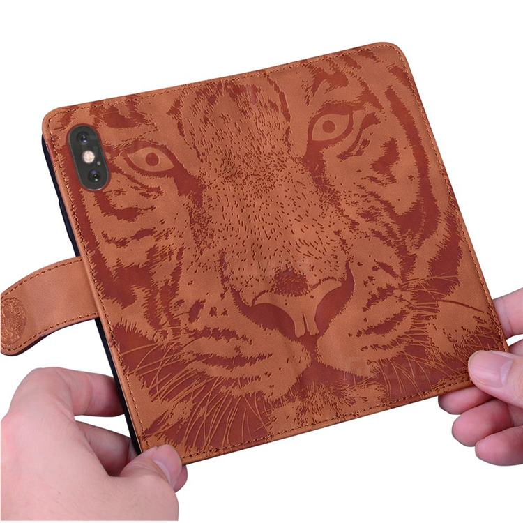 Tiger Pattern Phone Wallet Case Cover #cute #guuds guuds.com