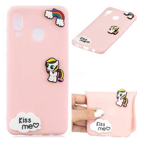 Kiss me Pony Soft 3D Silicone Case for Samsung Galaxy M30
