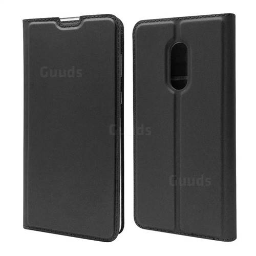 Ultra Slim Card Magnetic Automatic Suction Leather Wallet Case for Sharp AQUOS Zero2 SH-01M - Star Grey