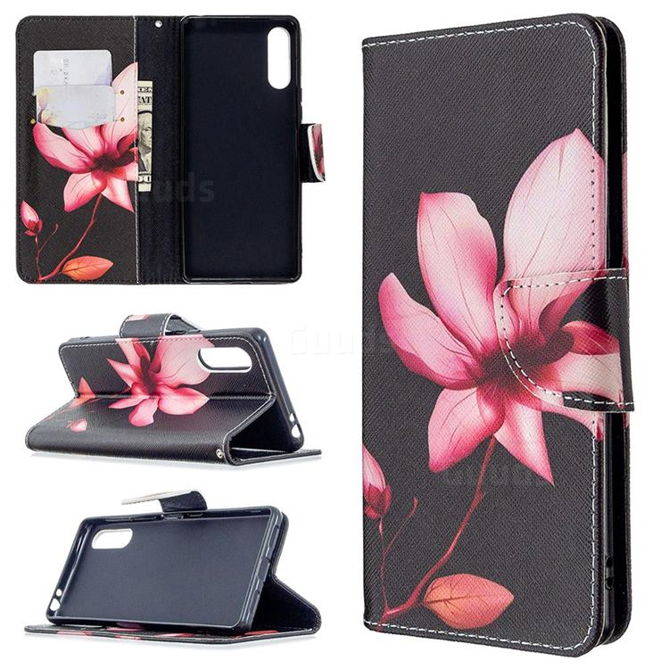 Lotus Flower Leather Wallet Case for Sony Xperia L4