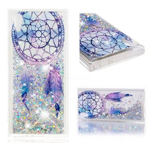 Dynamic Liquid Glitter Quicksand Soft TPU Case for Sony Xperia XA1 - Fantasy Wind Chimes