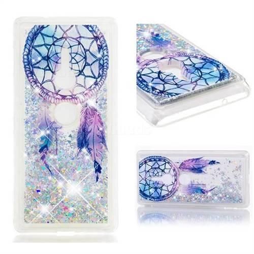 Dynamic Liquid Glitter Quicksand Soft TPU Case for Sony Xperia XZ2 - Fantasy Wind Chimes