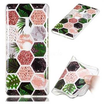 Rainforest Soft TPU Marble Pattern Phone Case for Sony Xperia XZ2