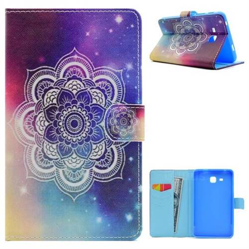 Sky Folio Flip Stand Leather Wallet Case for Samsung Galaxy Tab A 7.0 (2016) T280 T285