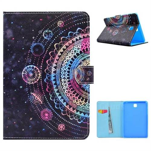 Universe Folio Flip Stand Leather Wallet Case for Samsung Galaxy Tab A 8.0 T350 T355
