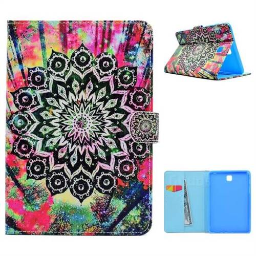 Colorful Folio Flip Stand Leather Wallet Case for Samsung Galaxy Tab A 8.0 T350 T355