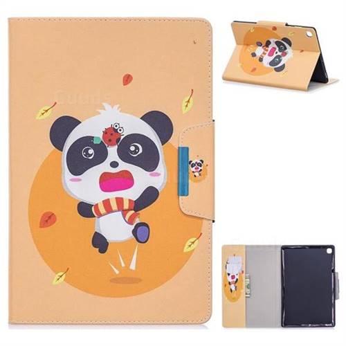 Ladybug Panda Folio Flip Stand Leather Wallet Case for Samsung Galaxy Tab A 10.1 (2019) T510 T515