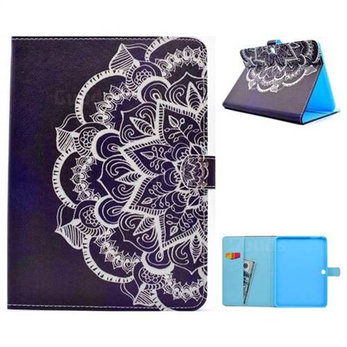 Half Lace Folio Flip Stand Leather Wallet Case for Samsung Galaxy Tab 4 10.1 T530 T531 T533 T535